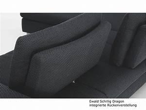 Ecksofa Mit Verstellbarer Sitztiefe : ewald schillig dragon ecksofa sofa 2 sitzer anbausofa armlehne inkl 4 kissen ebay ~ Indierocktalk.com Haus und Dekorationen