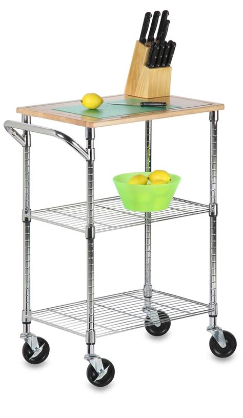 rolling kitchen cart amazon woodworking projects plans