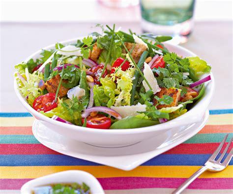 oignon blanc cuisine recette facile salade verte aux tomates cerise