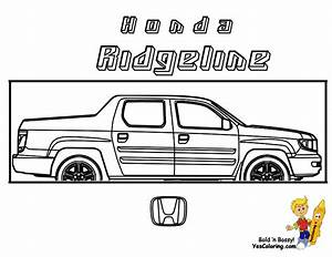 ford pick up truck free colouring pages With new honda ridgeline