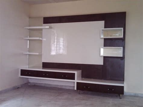 modern living room lcd tv wall unit rs  piece aamphaa projects id