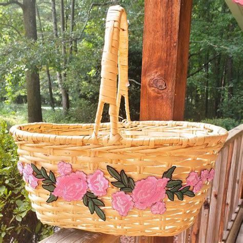 creating  joy organize  home   floral basket floral baskets organizing