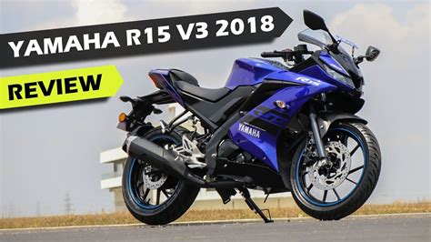 Yamaha R15 V3 by Yamaha R15 V3 Review In Ride Icn Studio