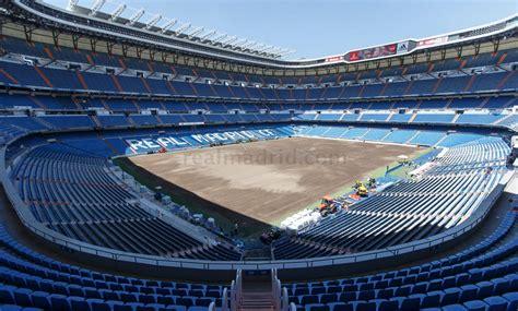 Cambio de césped del Santiago Bernabéu | fotos | Real ...