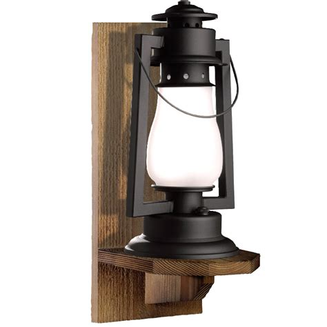 rustic wall sconce wall mounted lantern sutter s mill