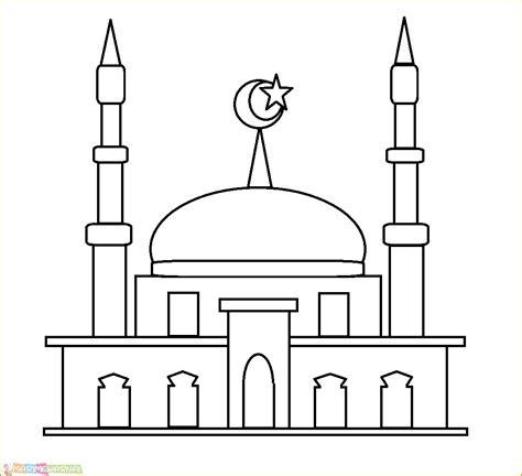 masjid kartun hd