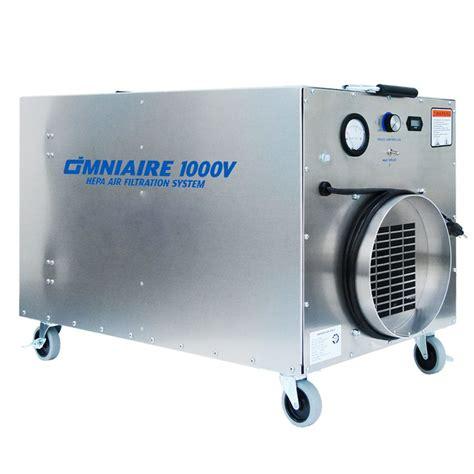 omnitec omniaire  variable speed negative air machine