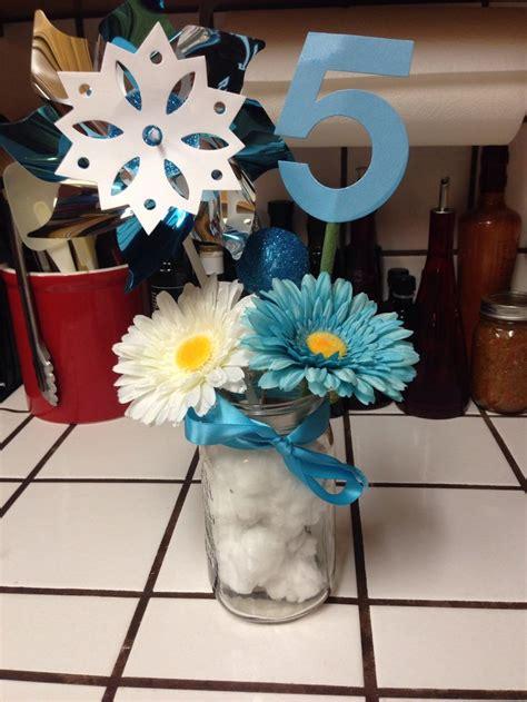 disney frozen table centerpiece disney frozen theme diy decorations or table
