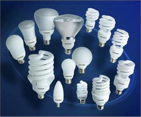 switch to compact fluorescent light bulb energy