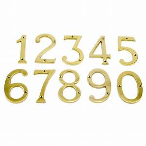 oil rubbed bronze traditional house numbers outdoor With brass address numbers and letters