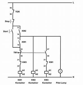 Control Wiring Diagram Star Delta Starter Contactor As An Important Part Of The Motor Control Gear Star Delta Starter Control And Power Circuit Diagram Star Delta Starter Electrical Notes Articles Plc Plc