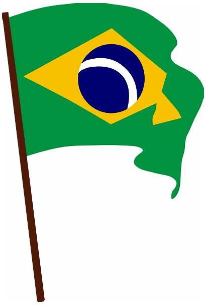 Flag Brazil Clip Clker Vector Clipart