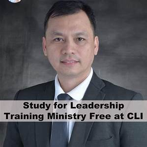 Study For Leadership Training Ministry