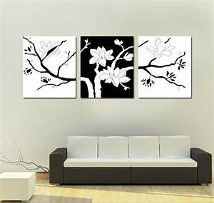 Simple black and white wall art pixshark