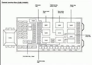 2002 Ford F 250 Fuse Block Diagram