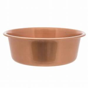 Top pawr steel copper design dog bowl dog food water for Petsmart dog dishes