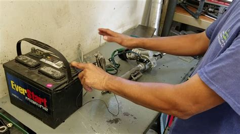 Diy Electric Power Steering Bench Test Youtube