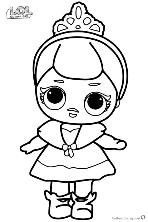 cute lol surprise doll coloring pages  printable
