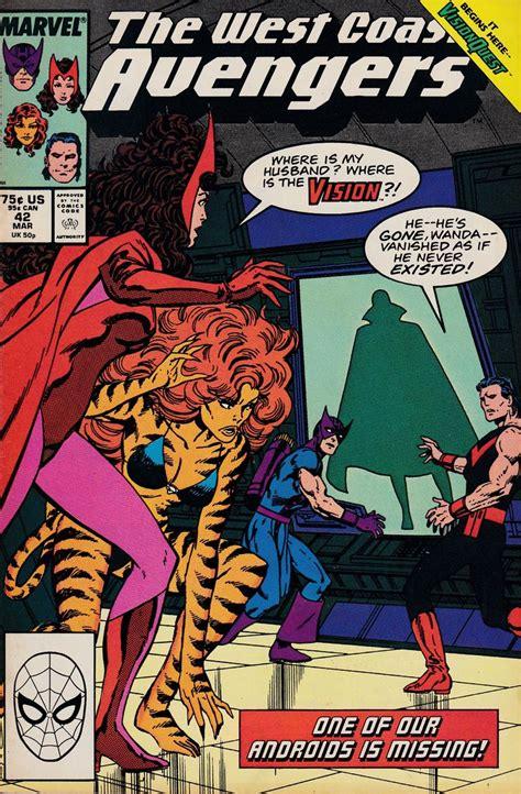 West Coast Avengers # 42 Marvel Comics Vol. 2   Marvel ...