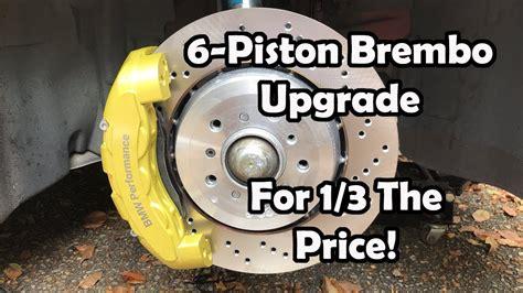 piston brembo upgrade   budget bmw  youtube