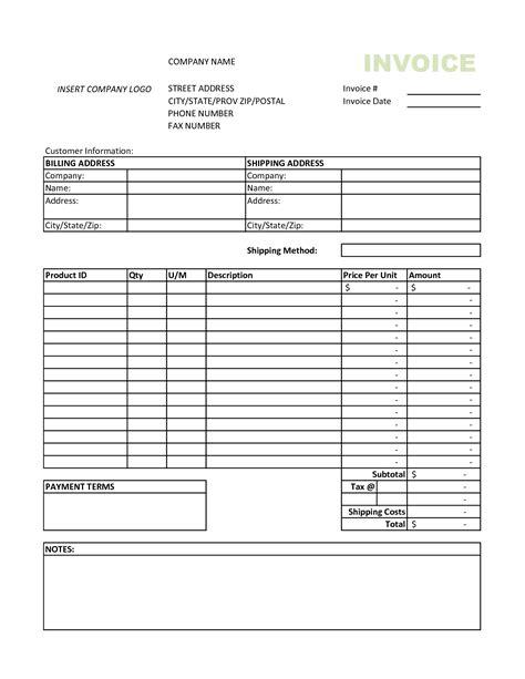 invoice template excel  invoice
