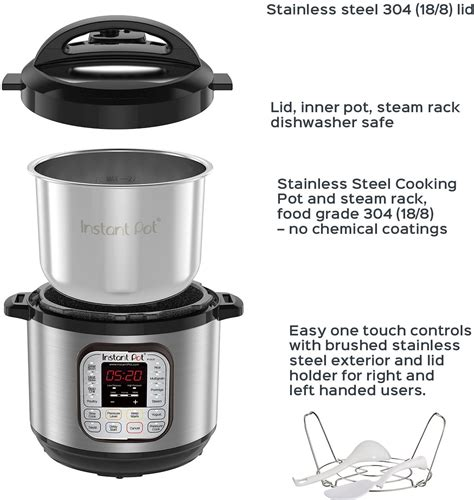 In addition to coffee pots, instant pot has a wide range of products that include air fryers, ovens, blenders, and much more. Instant Pot 8 Quart - The Best Instant Pots Buyer's Guide & Reviews