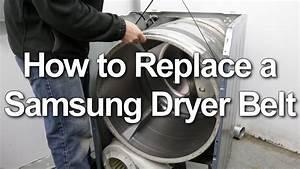 Samsung Dryer Belt Replacement
