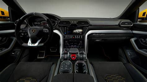 2018 Lamborghini Urus Interior 4k Wallpaper