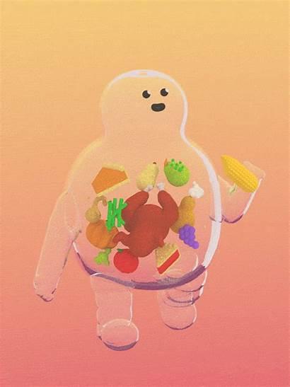 Animated Thanksgiving Cartoon Weight Julian Times Glander