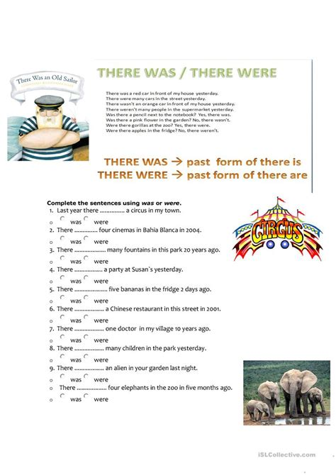 There Is There Are Worksheet  Free Printables Worksheet