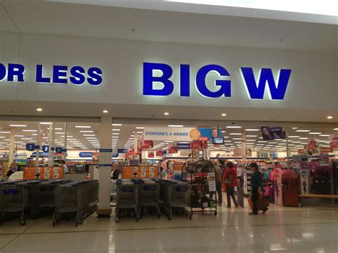 big w in burleigh heads qld department stores truelocal