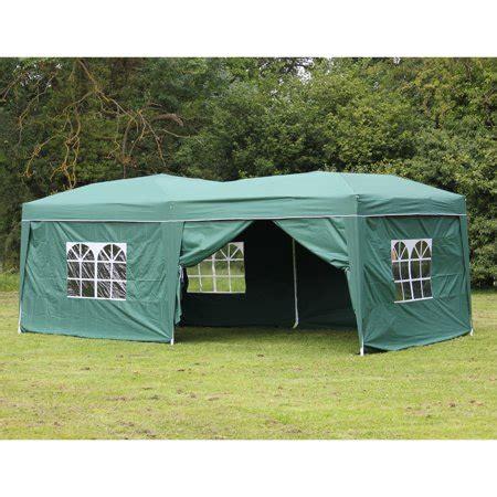 palm springs green ez pop  canopy gazebo party tent   side walls walmartcom
