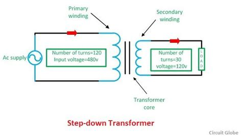 step transformer circuit diagram wiring diagram