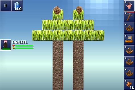 how to plant trees in blockheads coconut the blockheads ios wiki