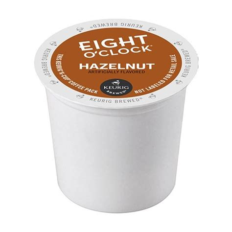 Hey welcome to coffee coffee coffee your place for average joe coffee reviews i'm jr and this is kayla and today's coffee was recommended by a brand: Eight O'Clock Coffee, Hazelnut Blend, K-Cup Coffee Pods, 24 Count - Walmart.com