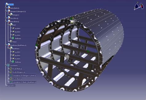 load in 3d viewer uploaded by fuselage boeing catia 3d cad model grabcad