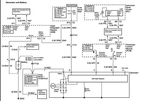 Wiring Diagram For 2002 Cadillac by 2000 Cadillac Sts Alternator Fuse On 04