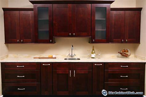 mocha shaker kitchen cabinets mocha shaker rta cabinet hub imperial shaker 7570