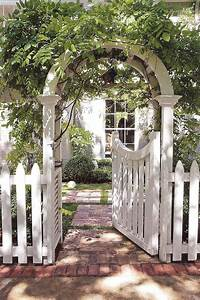 Cottage arch and gate Kiss me at the Gate Pinterest