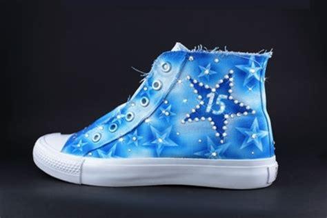 converse quince shoes  blue quincenera shoes