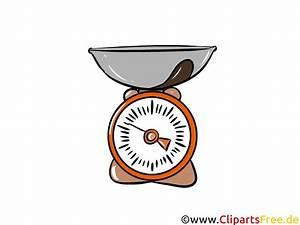 Nutzungsrechte Illustration Berechnen : k chenwaage illustration clipart bild ~ Themetempest.com Abrechnung