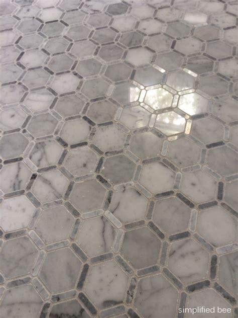 Carrara Marble Tile Floor by Tiles Archives Simplified Bee
