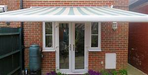 Electric Patio Awning Fitted In Romsey