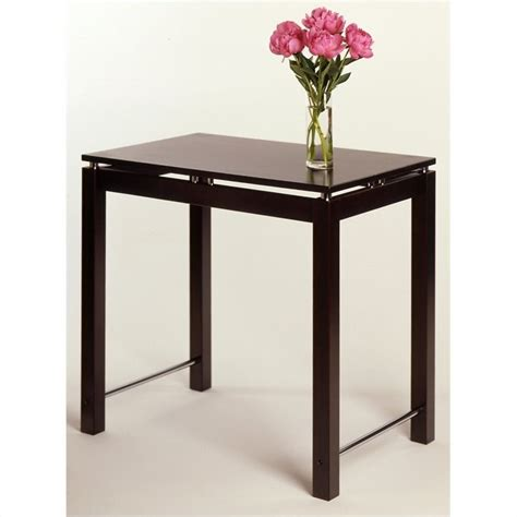 Winsome Kitchen Island Counter Height Dining Table  Ebay