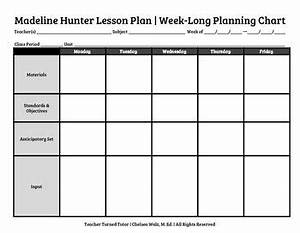 the 25 best weekly lesson plan template ideas on With week long lesson plan template