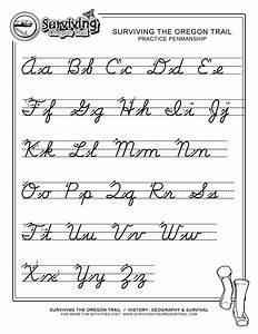 Practice Penmanship – FREE ABC's Printable Cursive Writing ...