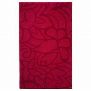 Accessoires Salle Bain Haut Gamme : tapis de salle de bain haut de gamme rouge ~ Melissatoandfro.com Idées de Décoration