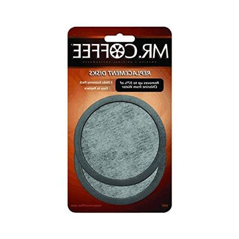 You can get the best discount of up to 97% off. MR. COFFEE WATER FILTER REPLACEMENT DISC 2 pack