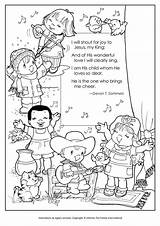 Coloring Joy Shout Thank Father Thee Jesus Loves King Colouring Sheets Children Preschool Printable Child Activities Sing Whom Slideshare Para sketch template