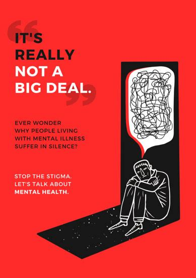 mental health awareness campaign poster templates  canva